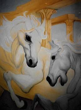 Roman Ponies by Patrick Trotter