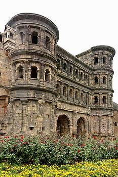 Roman Porta Nigra in Trier by Gisela Scheffbuch