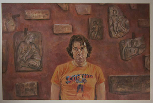 Roman Selfportrait by Paez  Antonio
