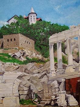 Roman Stadium In Plovdiv by Nina Mitkova