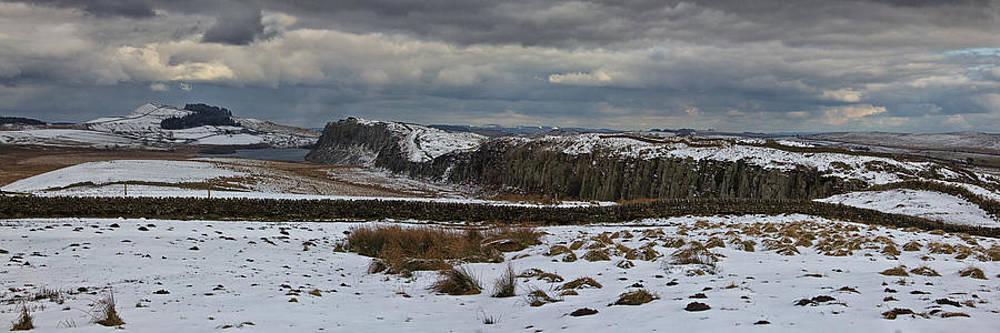 David Pringle - Roman Wall Panorama