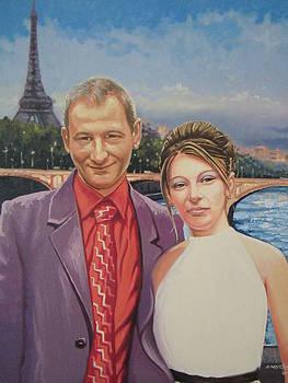 Romance in Paris by Andrei Attila Mezei