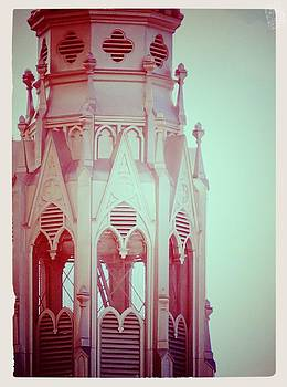 Laura Carter - Romantic Cathedral Architectural Details Photograph