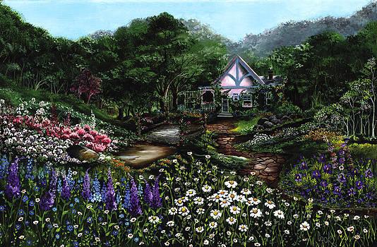 Romantic Cottage by Bonnie Cook