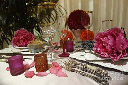 Romantic Dinner Setting by Nina Prommer