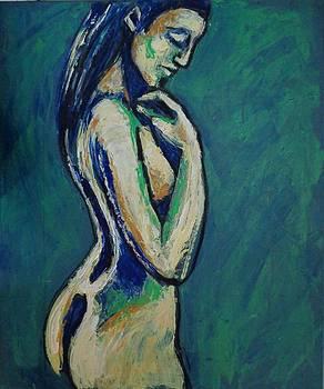 Romantic Dreamer - Female Nude by Carmen Tyrrell