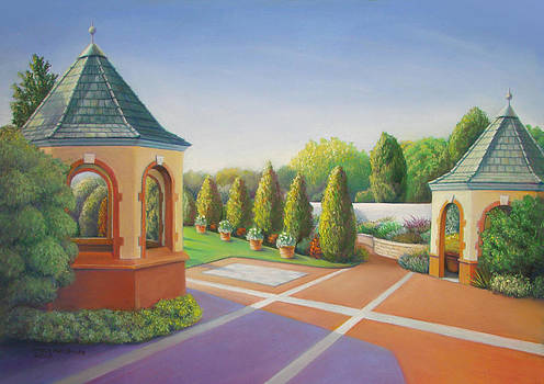 Romantic Garden by Bruce MacBride