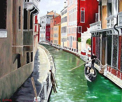 Romantic Venice by Zelma Hensel