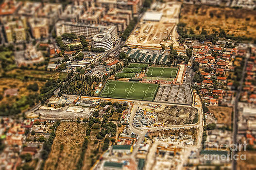 Justyna Jaszke JBJart - Rome aerial photo