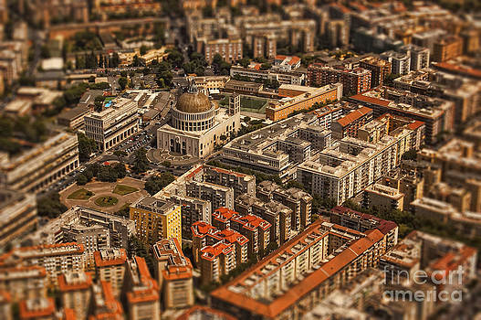 Justyna Jaszke JBJart - Rome architecture aerial photo