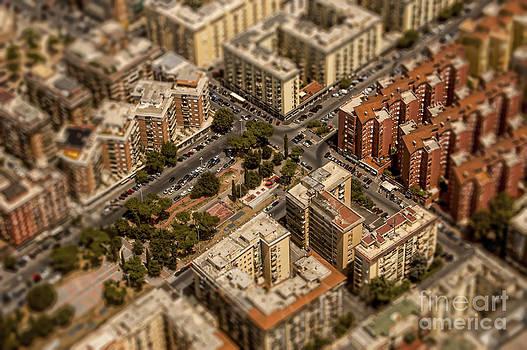 Justyna Jaszke JBJart - Rome buildings aerial photography