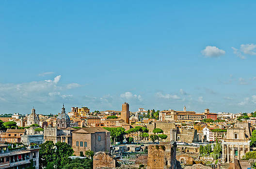 Rome cityscape by Luis Alvarenga