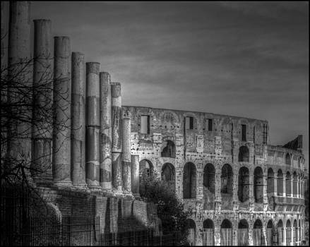 Rome Coliseum by Alfredo Machado