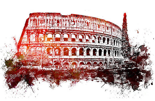 Justyna Jaszke JBJart - Rome Colosseum