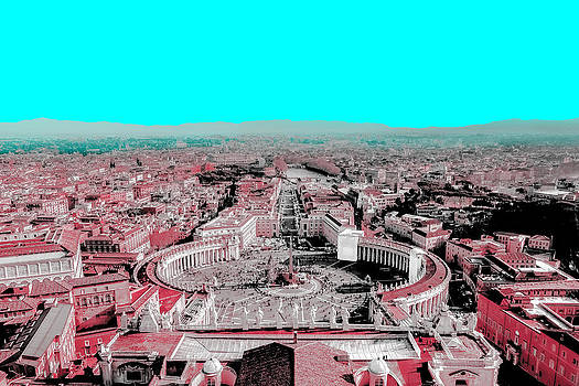 Rome Delineated by Matthias Flynn