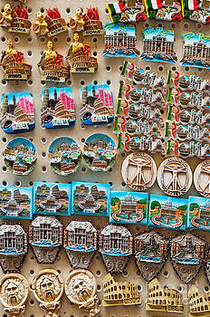Rome fridge magnets by Luis Alvarenga