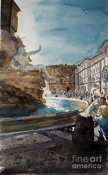 Rome Piazza Navona by Marisa Gabetta