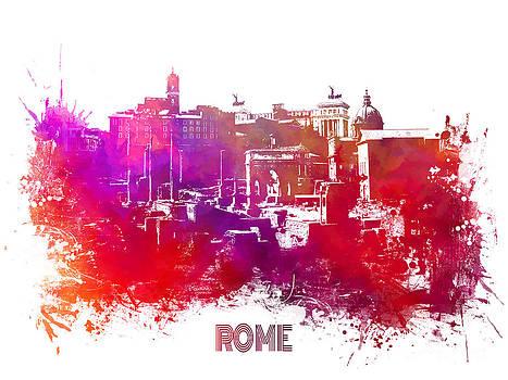Justyna Jaszke JBJart - Rome skyline