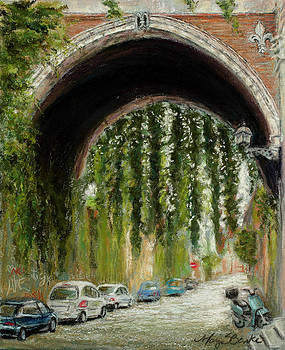 Mary Benke - Rome Street Scene