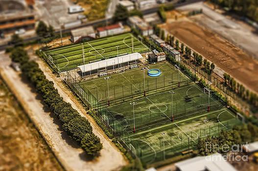 Justyna Jaszke JBJart - Rome tennis courts