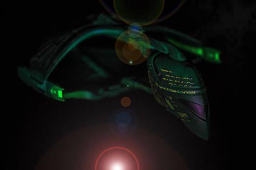 Romulan Warbird by David Doyle