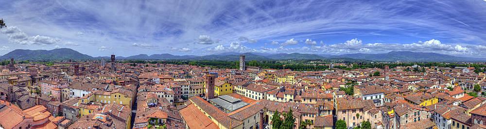 Matt Swinden - Roofs of Lucca