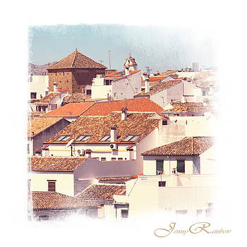 Jenny Rainbow - Roofs of Ronda. Mini-Ideas for Interior Design