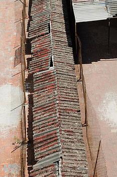 Rooftop Corridor in Havana Cuba by Rob Huntley