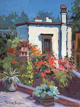 Rooftop San Miguel by Donna Dickson