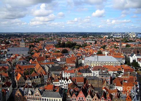 Danielle Groenen - Rooftops of Bruges