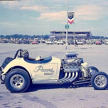 Roosevelt Field Raceway 1961 by Scott Snizek
