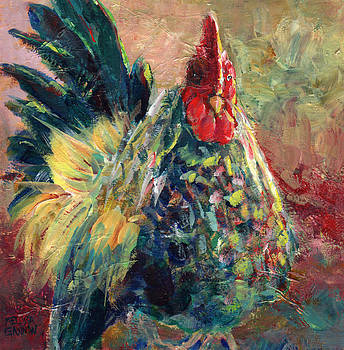 Rooster Attitude by Melissa Gannon
