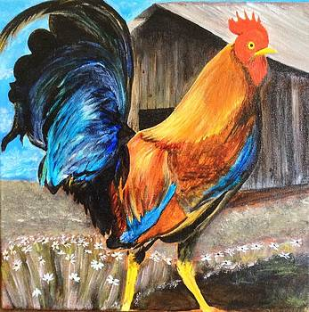 Rooster by Brien Hockman
