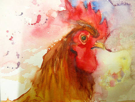 Rooster by Charu Jain
