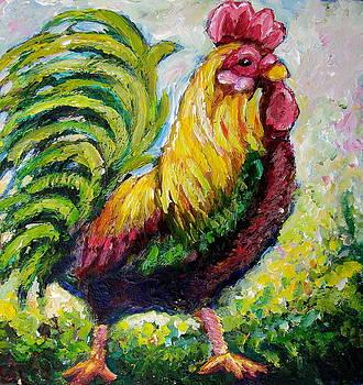 Rooster by Sebastian Pierre