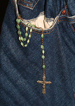 Rosary Beads and Blue Jeans by Joan Powell