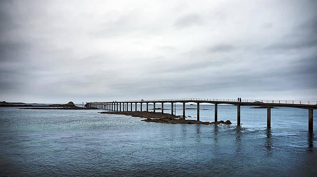 Roscoff Bridge by Pier Giorgio Mariani