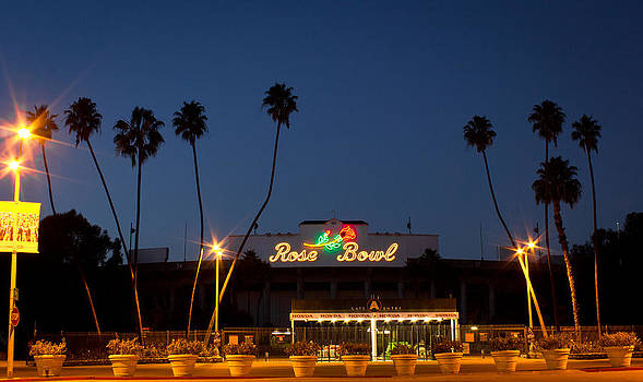 Rose Bowl Sunset by Rollie Robles