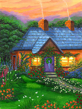 Rose Cottage by Bonnie Cook