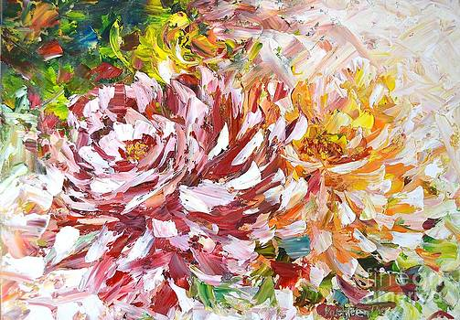 Rose Delight by Kathleen Pio