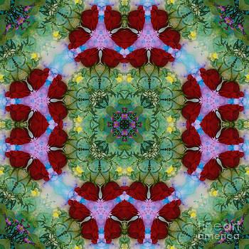 Rose Kaleidoscope by Jennifer Reitmeyer
