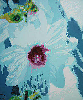 Rose Mallow by Bitten Kari