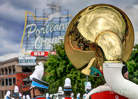 Rose Parade Reflections by Bruce Smalley