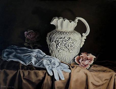 Rose Pitcher by Linda Becker