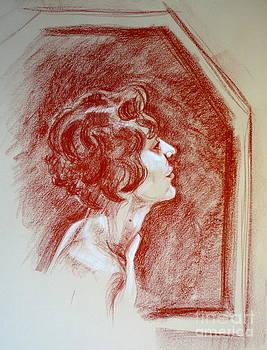 Alessandra Di Noto - Rose portrait