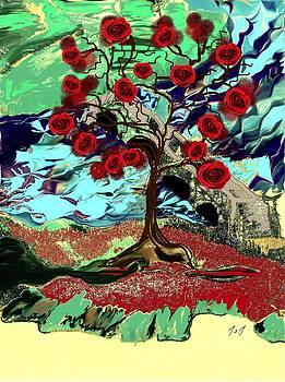 Rose Tree by Jan Steadman-Jackson