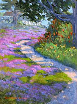 Rosea Path by Rhett Regina Owings