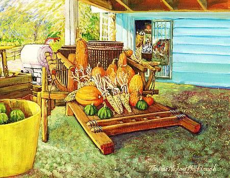 Rosebank Farm Cart by Thomas Michael Meddaugh