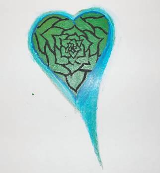 Rosed Heart by Mellissa Boyd