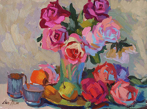 Diane McClary - Roses and Apples